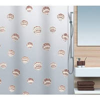 Шторка для ванной Spirella 15239 SHELL 180х200см