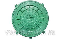 Люк дачний д. 600 зелений