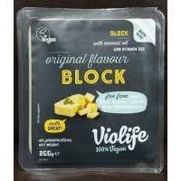 Сыр веганский ОРИГИНАЛ, 200 г, TM VIOLIFE