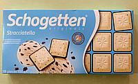 Шоколад Schogetten Страчателла черный и белый 100 г