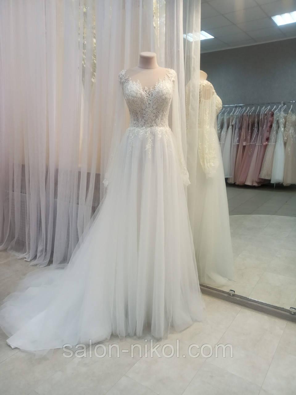 Свадебное платье № C2016
