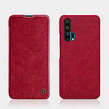 Nillkin Huawei Honor 20 Pro Qin leather case Red Чехол Книжка, фото 4