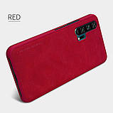 Nillkin Huawei Honor 20 Pro Qin leather case Red Чехол Книжка, фото 5