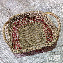 Корзина плетеная квадратная (хогла), фото 3