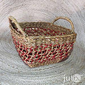 Корзина плетеная квадратная (хогла)