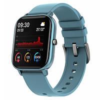 UWatch Смарт часы Smart P8 Sport Blue, фото 1