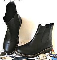 Подростковые демисезонный стильные ботинки Timberland челси натуральная кожа оксфорд