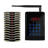 Система електронної черги Coaster Pager RECS R-90-12 USA