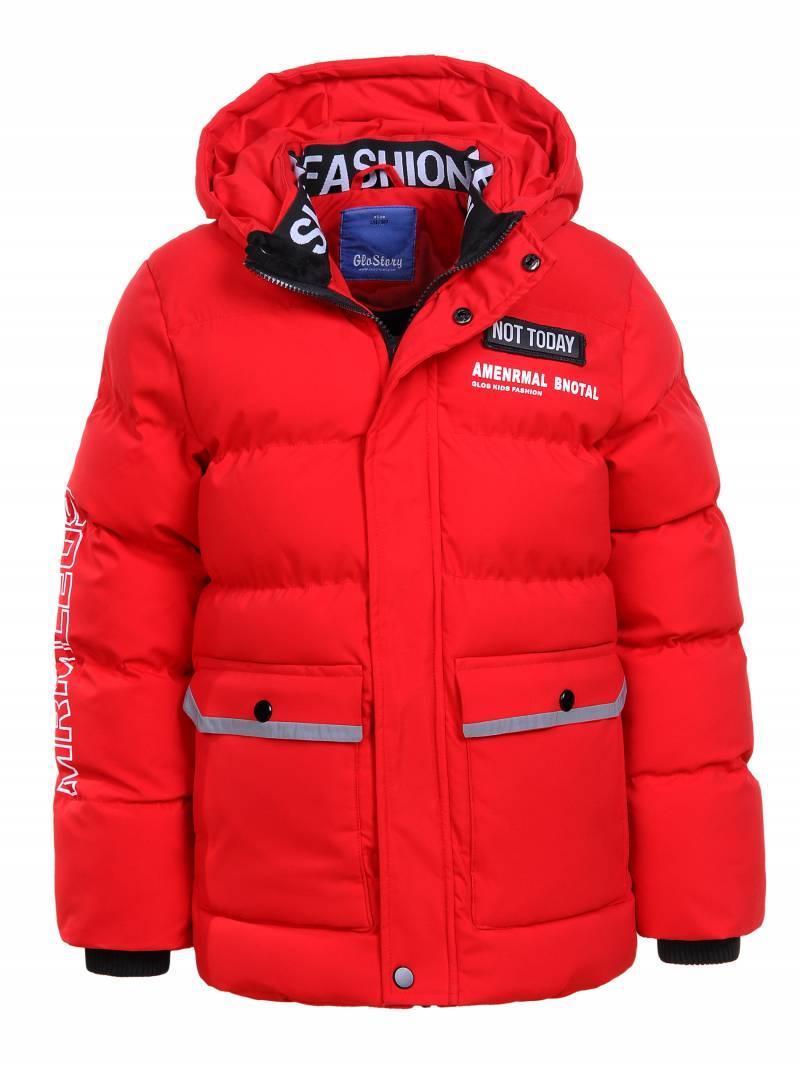 Зимова щільна курточка на хлопчика