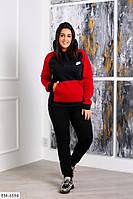 Костюм спортивний жіночий теплий з трьохнитки, фото 1