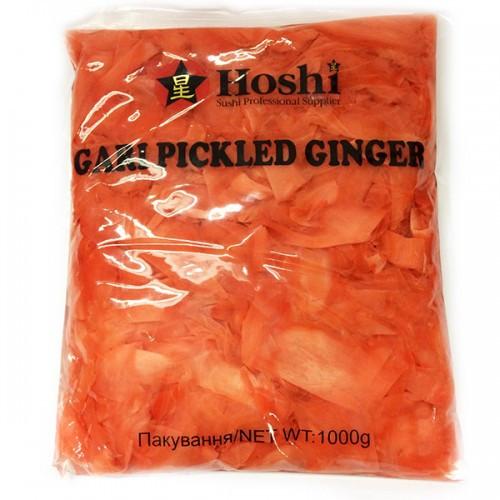 Маринованный имбирь розовый, Hoshi, 1кг.