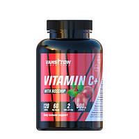 Вітамін С з шипшиною 120 таблеток ТМ Ванситон / Vansiton