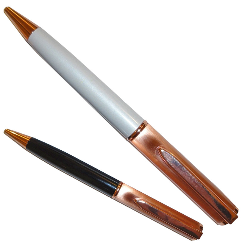 Ручка шариковая EL-1361 медный колпак
