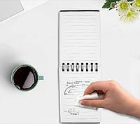 Смарт Блокнот Стираемый Многоразовый Блокнот + Ручка, фото 1