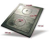 Набір чавунних плит з рамкою №2 480х640 мм арт. IS-019