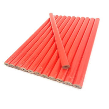 Столярный (строительный) карандаш для разметки в (1 наборе 12 шт) HTools, 14B812