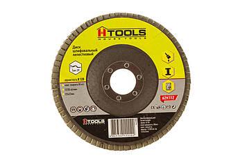 Диск шліф, пелюстковий 125*22 мм зерно 120 HTools, 62K112