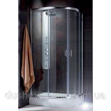 Radaway Premium Plus E 100x80x190 графитовая (30491-01-05N)