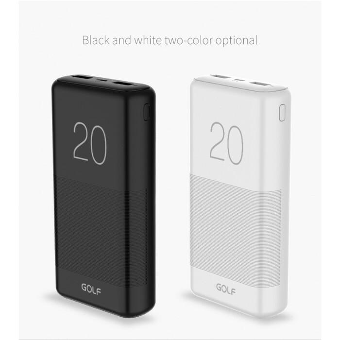 Портативная батарея GOLF G81 Power Bank 20000 mAh Оригинал