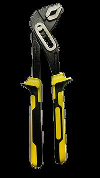 Клещи трубные 250мм CrV с изолированными рукоятками PROF. HTools, 34K241