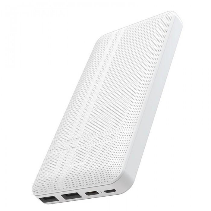 Зовнішній акумулятор Hoco J48 Nimble 10000 Mah батарея зарядка Білий