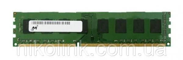 Память Micron DDR3 4GB PC3L-12800U (1600Mhz) (MT16KTF51264AZ-1G6M1)(8x1), б/у