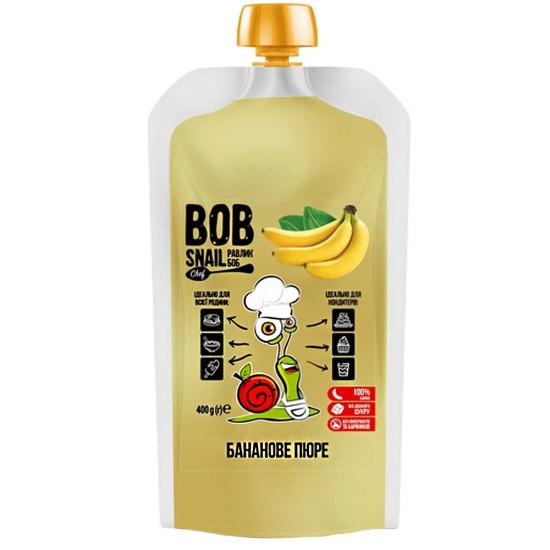 Банановое натуральное пюре BOB SNAIL (Боб Снейл), 400 г