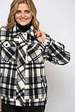 Куртка женская Сандра в клетку деним, фото 6