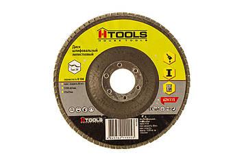 Диск шліф, пелюстковий 125*22 мм зерно 150 HTools, 62K115