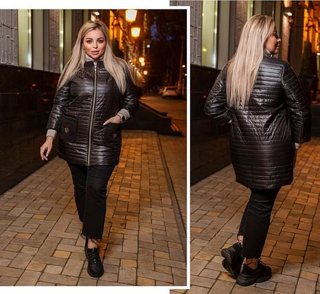 Куртка женская демисезонная Украина Размеры: 48-50, 52-54, 56-58, 60-62, фото 2