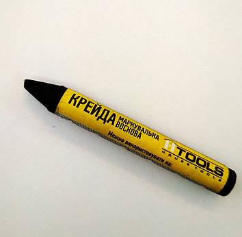 Мел маркировочный восковой, черный (12шт в коробке). HTools, 14K834