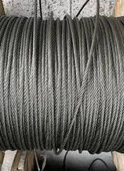 Трос нержавеющий 6мм плетение 7х19 (AISI 316)
