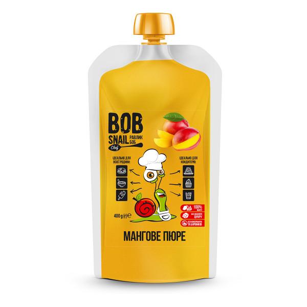 Манговое натуральное пюре BOB SNAIL (Боб Снейл), 400 г