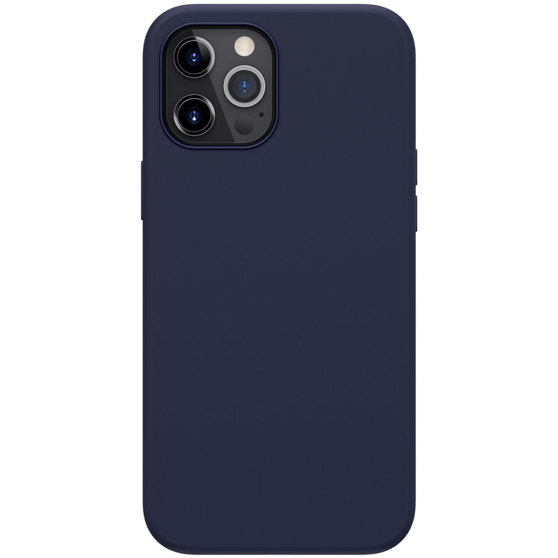 Nillkin iPhone 12 Pro Max (6,7″) Flex Pure Case Blue Силиконовый Чехол