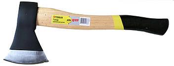 Топор 800 г, ручка из твердых сортов древесины. HTools, 05K138