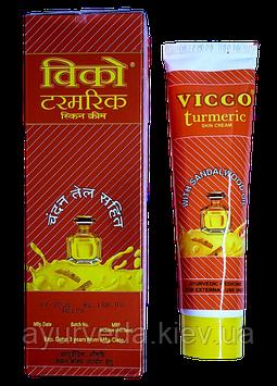 Викко Турмерик - крем с Куркумой и Сандаловым маслом - высыпания, покраснения, зажита от ультрафиолета ...