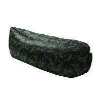 Надувной матрас Ламзак AIR sofa, расцветка ARMY, матрасы, пляжный матрас