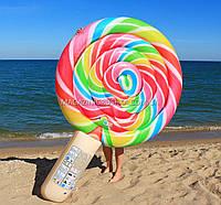 Матрас надувной Intex Леденец (Lollypop Float) арт.58753. Отлично подходит для отдыха на море, фото 1