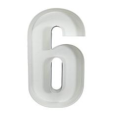 Цифра 6 из пенокартона (1м)