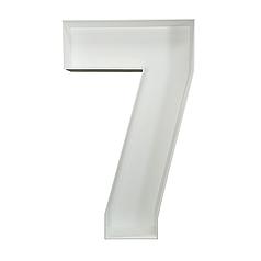 Цифра 7 из пенокартона (1м)