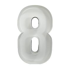 Цифра 8 з пінокартону (1м)