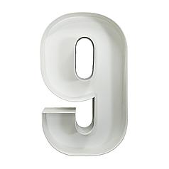Цифра 9 из пенокартона (1м)