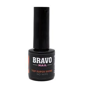 Bravo Top Super Shine No Wipe топ для гель-лаку 10 мл