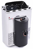 Электрическая печь Sawo MINI X MX-23 NB (2.3 кВт, 1,3-2,5 м3, 220/380 В ), со встр. пультом управле