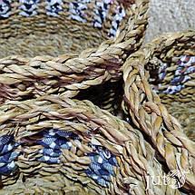 Корзина плетеная (хогла + хб), фото 2
