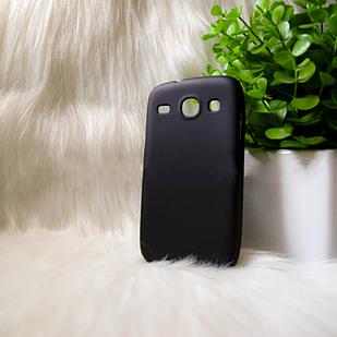 "Силіконовий чохол Samsung i8262 ""Cool Black Чорний (black)"