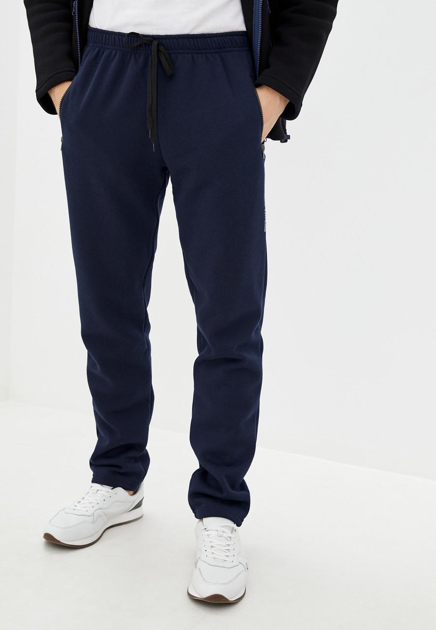 Чоловічі утеплені трикотажні штани з начосом Tailer Sport, розміри від 50 до 58