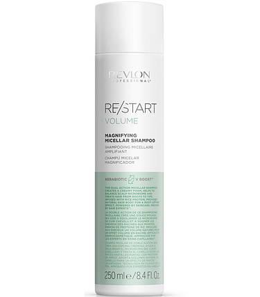 REVLON Restart Volume Magnifying Shampoo Шампунь для объема волос 250 мл, фото 2