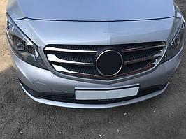 Накладки на решітку (5 шт, нерж) Mercedes Citan 2013↗ рр.