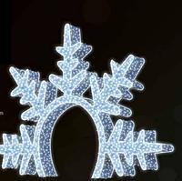 """3D светодиодная конструкция """"Арка"""" 400cm"""